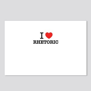 I Love RHETORIC Postcards (Package of 8)